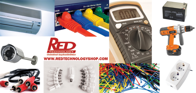 Red Technology Shop
